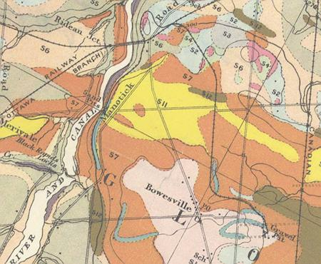 1915 geological map