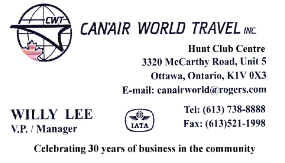 Can'air World Travel